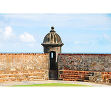 Old San Juan Gun Tower Photographic Print