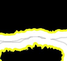 Zap-A-Mustache Sticker