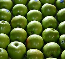 Granny Smith apples by Maggie Hegarty