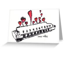 Love Notes Greeting Card