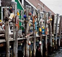 Provincetown Buoy Pier by phil decocco