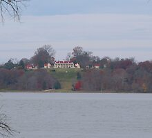 Mount Vernon across the Potomac - November by WalnutHill