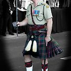 16th Battalion Cameron Highlander by Darren Speedie