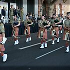 Australian Army Reserves Pipes and Drums Perth by Darren Speedie