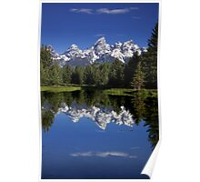 Mountain Reflections Poster