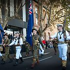 Anzac Day March by Darren Speedie
