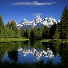 Teton Reflections by andrewsound95
