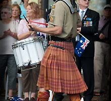 Australian Army Reserves Pipes and Drums by Darren Speedie