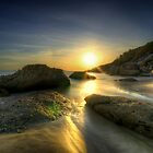 Squeaky Beach Sunset by Matt Haysom