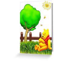 Winnie's Free Time Greeting Card