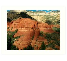 Majestic Views from the Sky Art Print