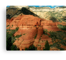 Majestic Views from the Sky Canvas Print