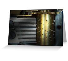 Steampunk - Gears - Music Machine Greeting Card