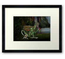 Dragons Realm Framed Print
