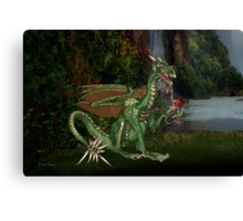 Dragons Realm Canvas Print