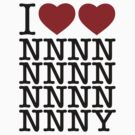 Doctor Who - I Heart Heart NNY Tee by heavenlygeekdom