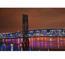 Jax Blue bridge  Photographic Print