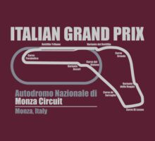 Italian Grand Prix - Monza Circuit (DarkShirts) by oawan