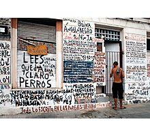 People 0955   Montevideo, Uruguay Photographic Print