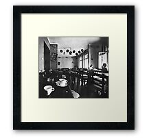 last coffee Framed Print