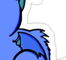 Cute Blue Dragon Sticker