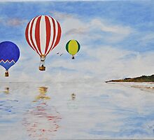 Hot Air Balloons by JaninesWorld