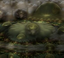 Bubbles of Insight by Craig Hitchens - Spiritual Digital Art