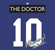 Team Tennant (The Doctor Jersey #10, Version TaRDiS) by trekvix