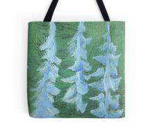 Impression Snowy PIne Trees Tote Bag