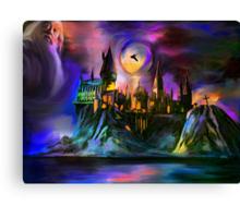 The Magic castle. Canvas Print