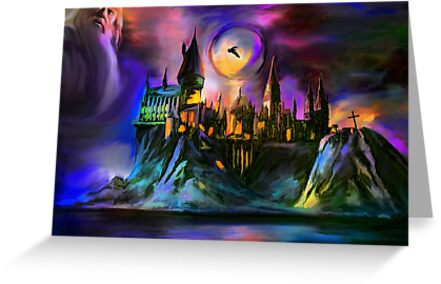 Hogwarts Castle... by andy551