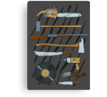 Horrible Weapons Canvas Print