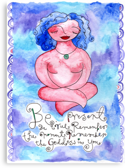 Be Present by GoddessLeonie
