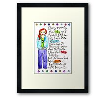 Find Your Way Home Framed Print