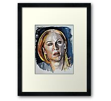 Kate (Elisabeth Rohm), featured in The Group Framed Print