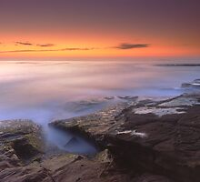 """A Silken Sea"" ? Merimbula, NSW - Australia by Jason Asher"