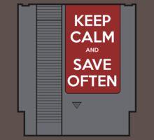 Keep Calm, Save Often T-Shirt