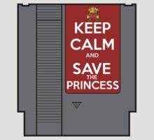 Keep Calm, Save the Princess T-Shirt