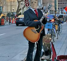 Incognito Street Musician by AnnDixon