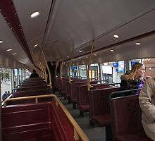 Upstairs on the new london Bus prototype by Keith Larby