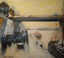 Return of the Fishermen to Boulogne from Luigi Loir 1880 by Jsimone