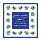 BedBugs [Blue] by Louise Parton