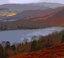 Rydal Water - Abstract by Dave Mercer