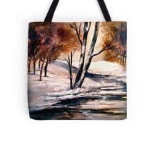 Winter's Innocence... Tote Bag