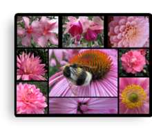 Floral Pink Canvas Print