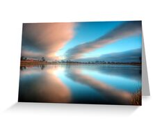 Outwoods Lake 3.0 Greeting Card