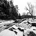 Huntington Gorge in Winter by Radharc21