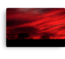 Red Rising Canvas Print