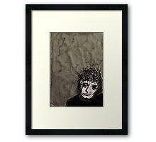 Brett Whiteley's Crown of Thorns Framed Print