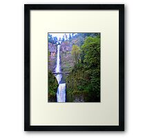 Multnomah Falls&Benson Bridge, Orgeon Framed Print